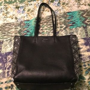 Calvin Klein faux leather tote